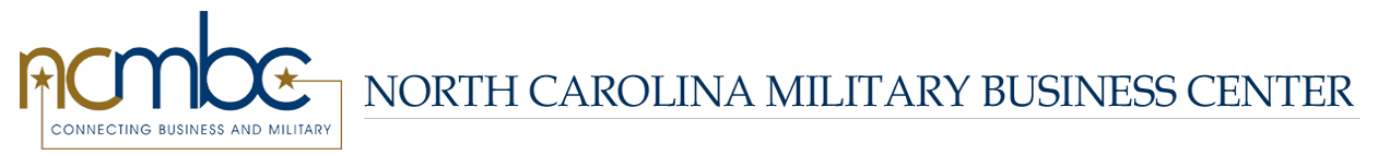 North Carolina Military Business Center logo